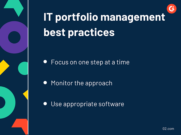 IT portfolio management best practices