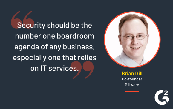 Cyber Security Tip from Brian Gill