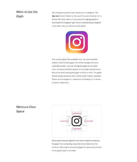 Instagram Style Guide Example