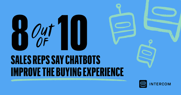 sales reps on chatbots for buying experience