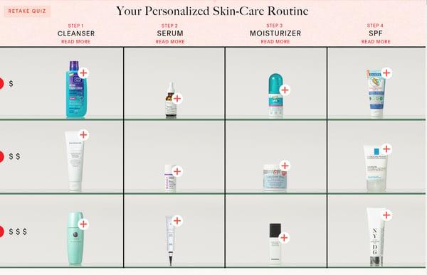 skin care routine x2