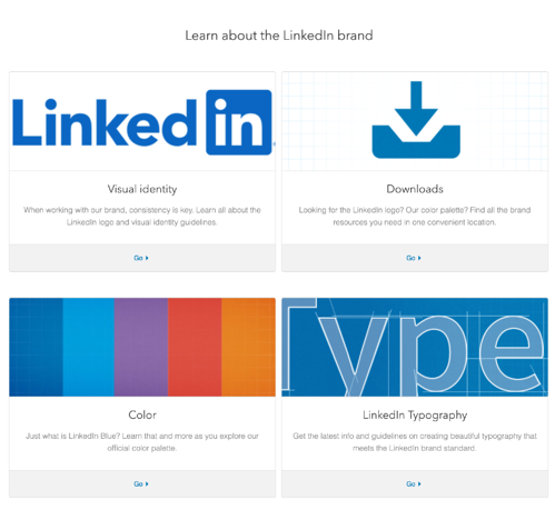 LinkedIn Style Guide Example