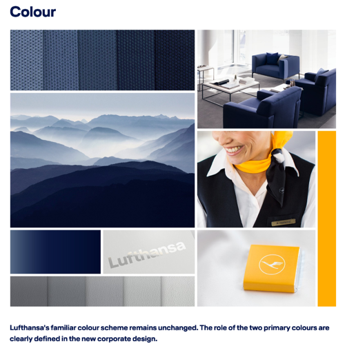 Lufthansa Style Guide Example
