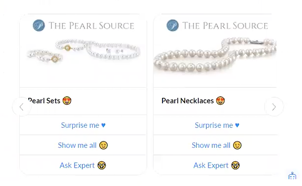 pearl/jewelry chatbot
