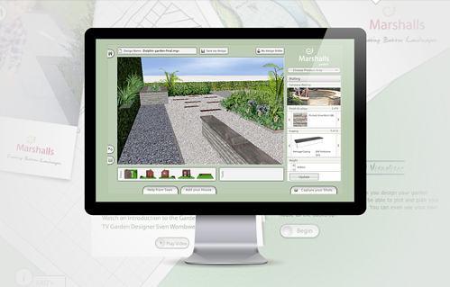 Marshalls Garden Visualizer screenshot