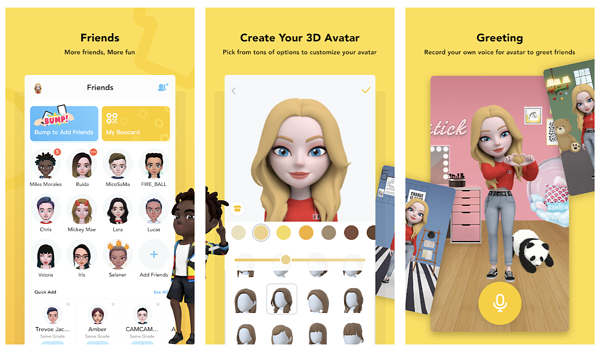Boo 3D Avatar app