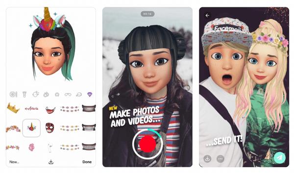 Facemoji app
