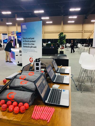 OracleMBX G2 Review Booth