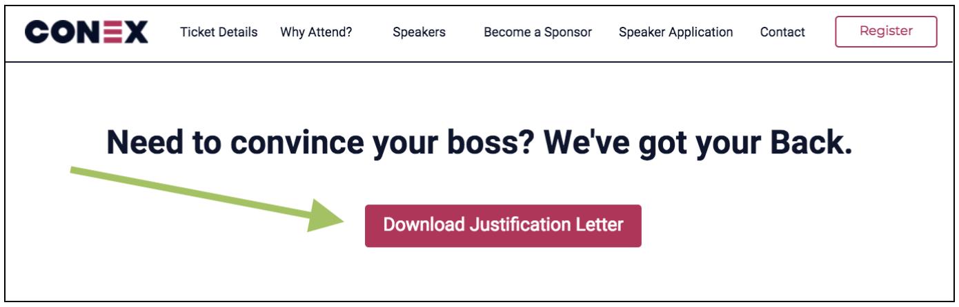 event-promotion-justification-letter