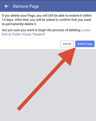 How to Delete a Facebook Page (Step-by-step Instructions for