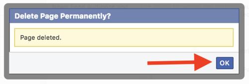 delete-facebook-page-on-desktop