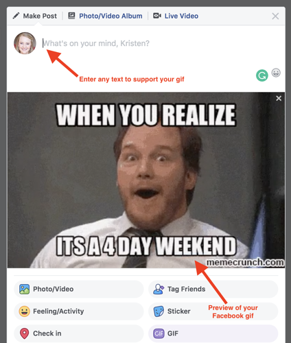 How to Post a Gif on Facebook: Three Ways to Share a Facebook Gif