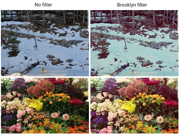 Brooklyn filter Instagram