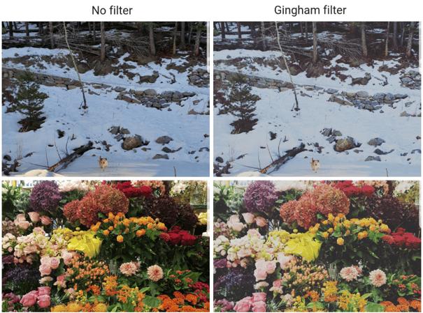 Gingham Insta filter