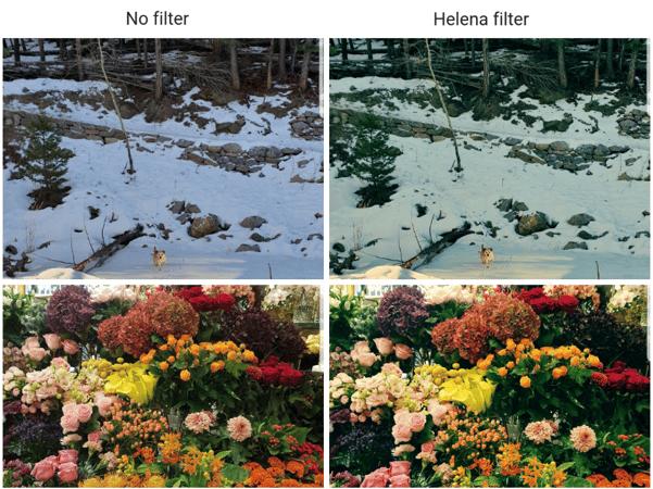 Helena Instagram filter