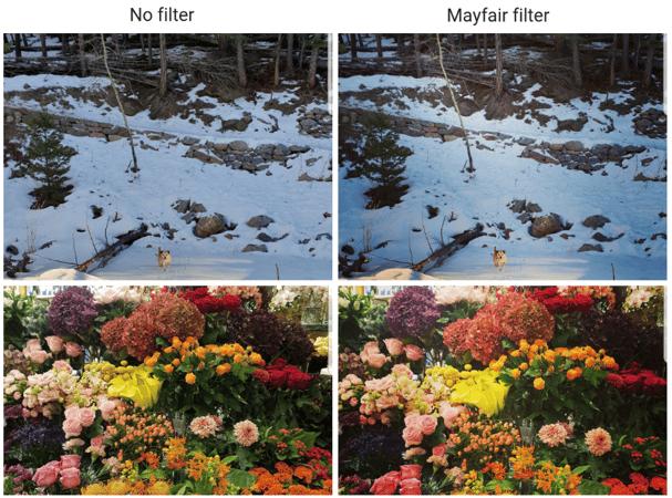 Mayfair Insta filter
