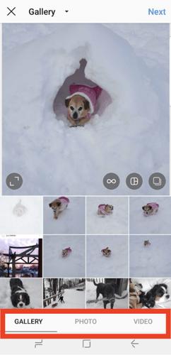 Select Instagram photo