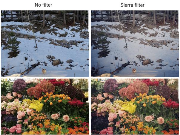 Sierra Instagram filter