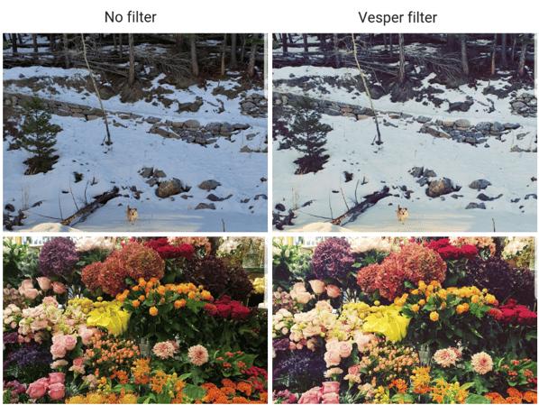 Vesper Insta filter