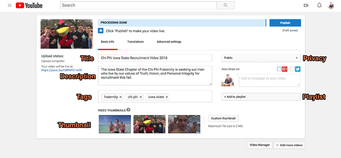 How To Upload a Video to YouTube and Get It Seen in 6 Simple Steps