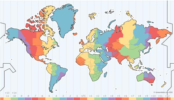 world-timezones