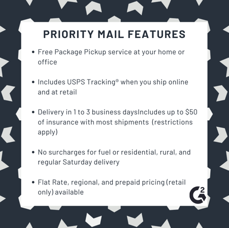 Priority mail features