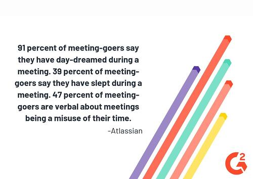 Employee productivity in meetings