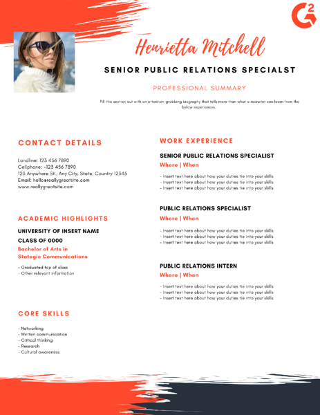 Your Public Relations Resume Must Include These Skills Or Else