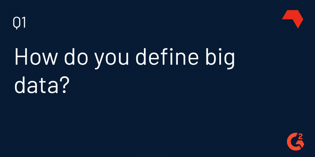 how do you define big data