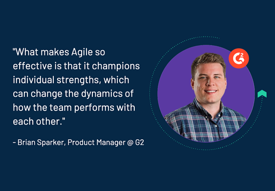 quote from expert on agile project management methodology