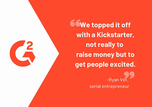 kickstarter funding quote
