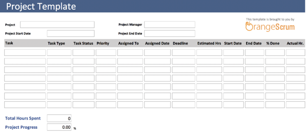 project template creative timesheet orangescrum