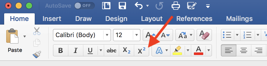 How to Do Subscript and Superscript in Word (Easy!)