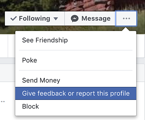 How to Report Someone on Facebook (Comments, Profiles, Pages
