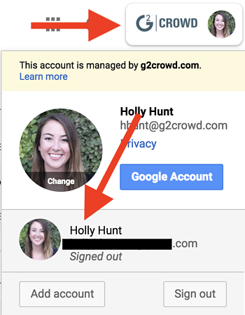 how-to-change-default-account-on-google