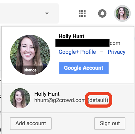how-to-change-the-default-google-account