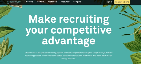 recruitment software example