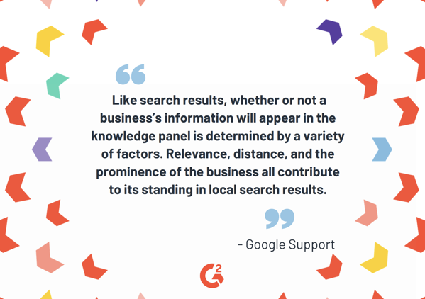 quote graphic - google support quote