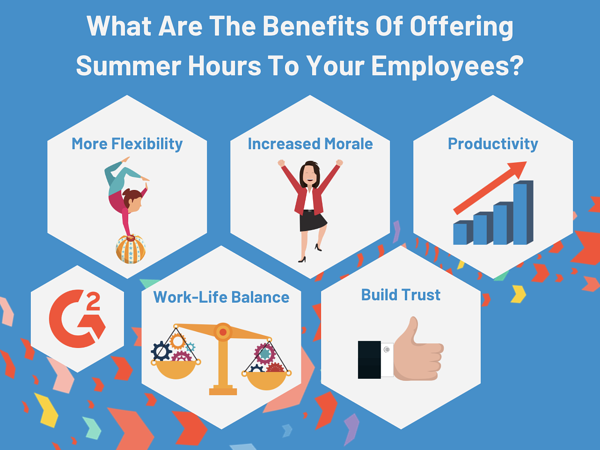 benefits of summer hours