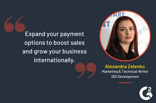 Alexandra Zelenko quote