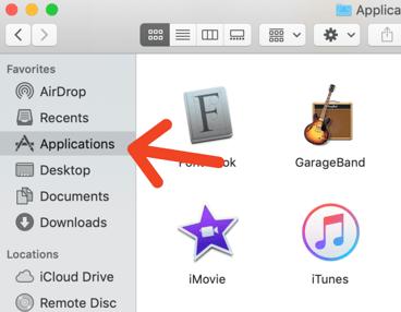 mac applications folder