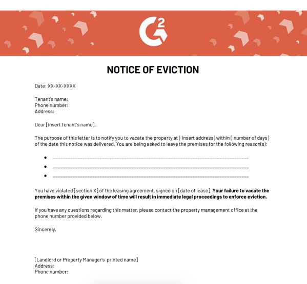 notice-of-eviction-letter-free-template