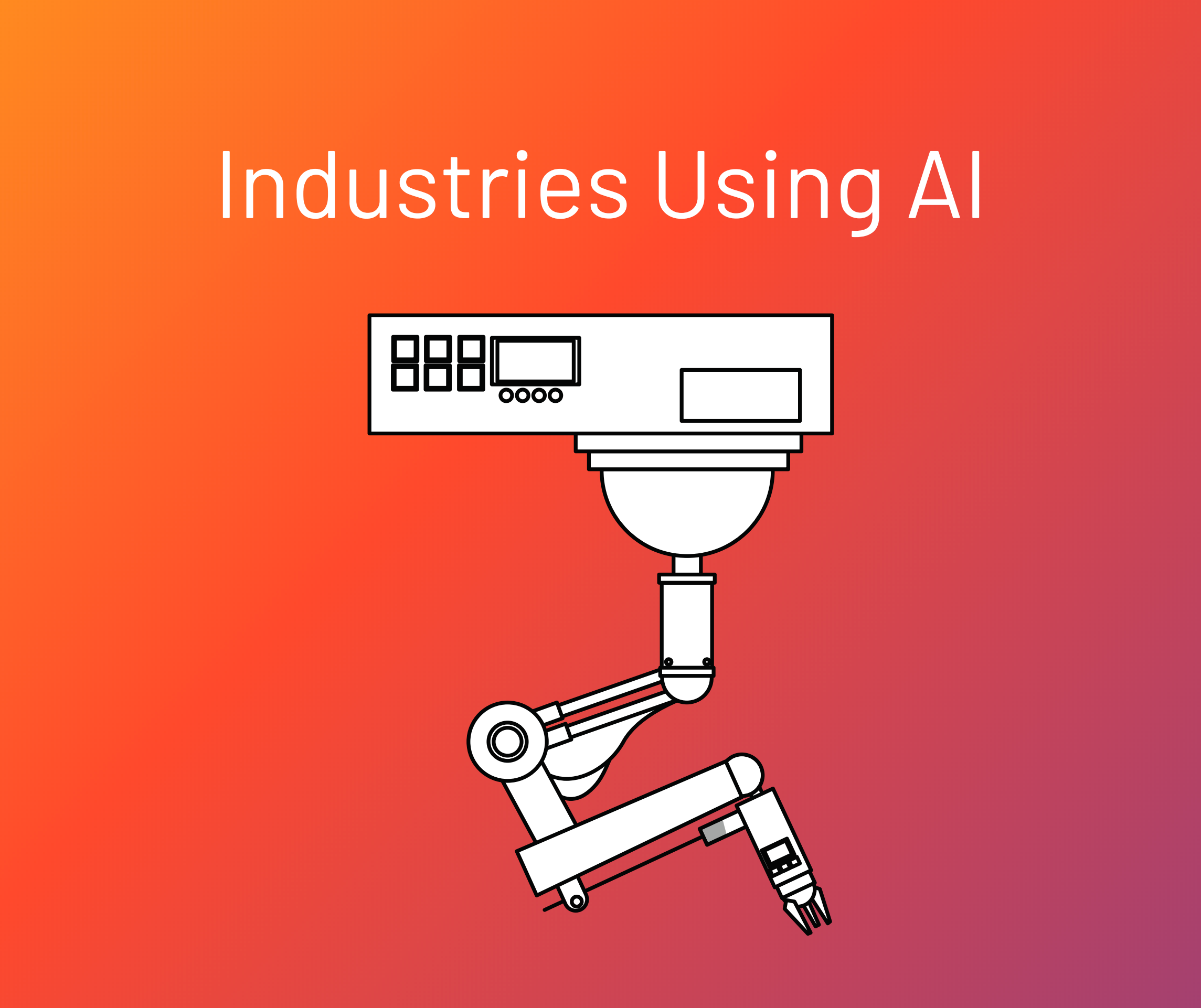 Industries Using Artificial Intelligence