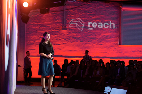 Meghan Keaney Anderson speaks at G2REACH