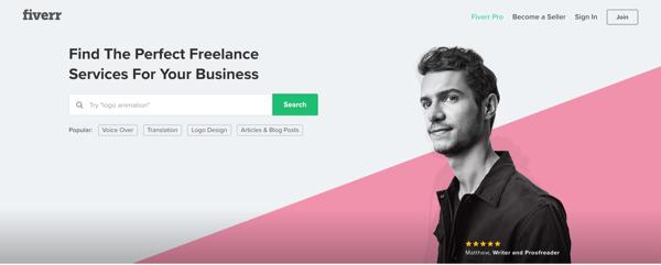 fiverr freelance writing jobs