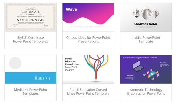 slidemodel powerpoint background templates