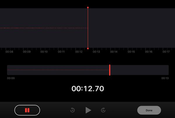 record voice memo