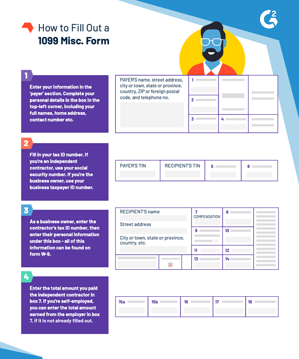 how to fill out form 1099