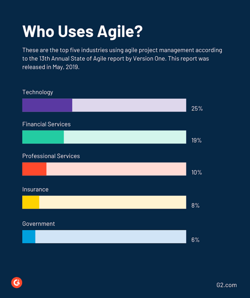 who uses agile project management?