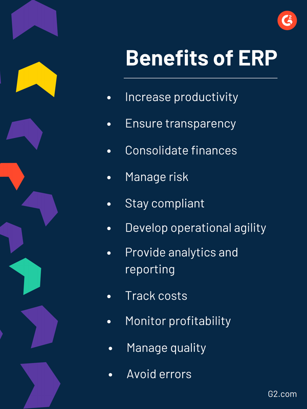 eleven benefits of erp